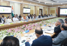 The Union Home Minister, Shri Amit Shah chairing the 24th meeting of the Eastern Zonal Council, at Bhubhaneswar, Odisha on February 28, 2020. The Chief Minister of Odisha, Shri Naveen Patnaik, the Chief Minister of Bihar, Shri Nitish Kumar, Chief Minister of West Bengal, Ms. Mamata Banerjee, the Finance Minister, Jharkhand, Shri Ramesh Oraon and other senior officers from the Central and State Governments are also seen.