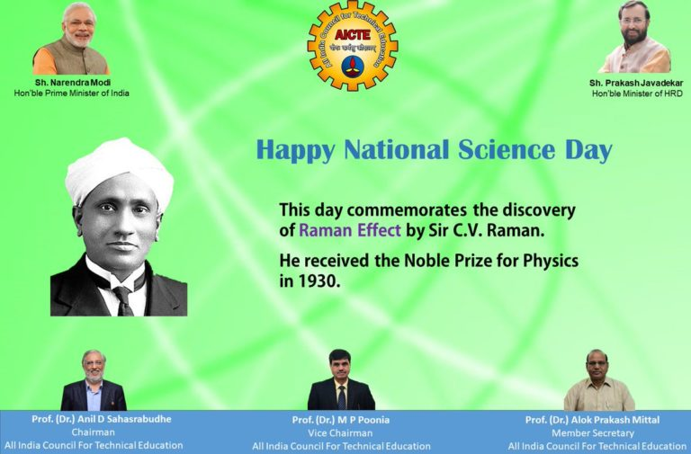 PM greets the scientists on National Science Day