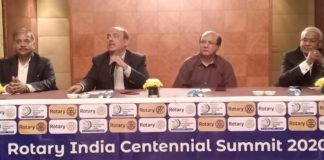 Rotary India Centennial Summit 2020 Press Meet