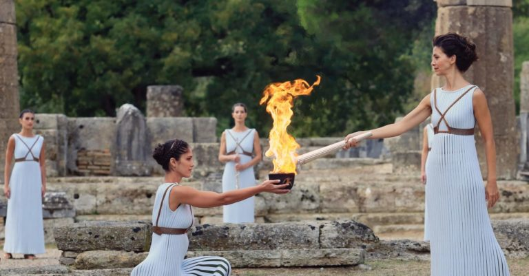 OLYMPIC CHANNEL PRESENTS LIVE COVERAGE OF THE OLYMPIC FLAME LIGHTING CEREMONY FOR TOKYO 2020 FROM OLYMPIA, GREECE ON 12 MARCH 2020