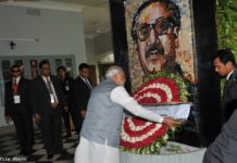 Tribute to Bangabandhu Sheikh Mujibur Rahman By PM Modi