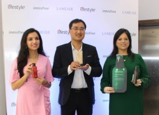 Korea's Leading Beauty Brands, Innisfree and Laneige Launched at Kolkata
