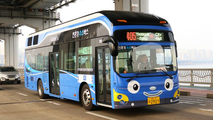 Hydrogen Fuel Bus - South Korea