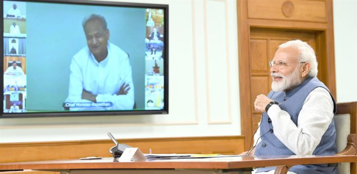 PM interacts with CMs to strategize ahead for tackling COVID-19