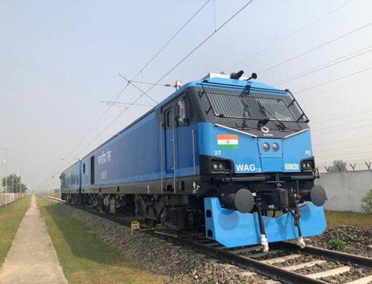 12000 HP Engine for Indian Rail