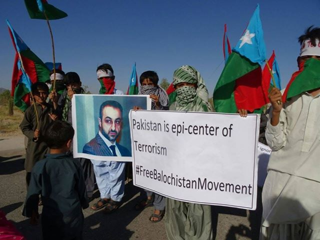 Baluch Leaders Protest Nuke Test by Pakistan in the World 3