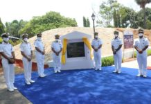 Foundation Stone for the Missile Park AGNEEPRASTHA