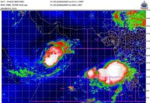 Lowpressure area at Arabian Sea