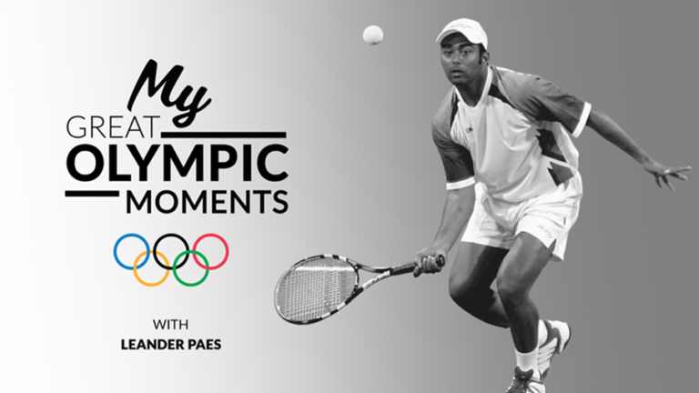 Great Olympic Moments with Leander Paes at Olympic Channel