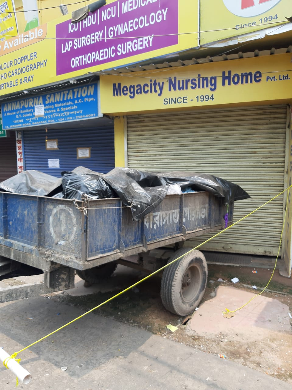 COVID-19 Bio Medical Waste not marked as COVID-19 Waste as per ICMR Guideline