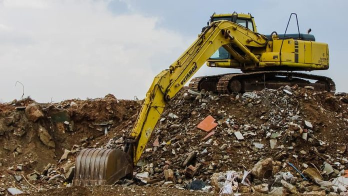 Construction and demolition (C and D) waste