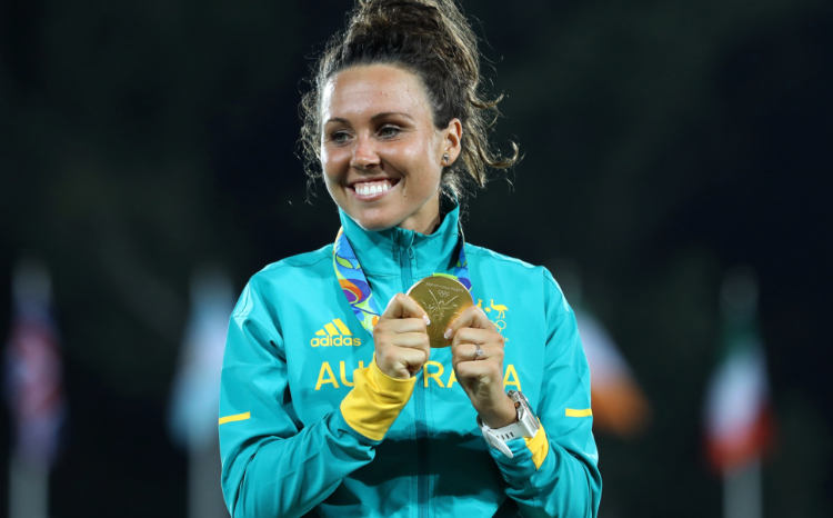 Chloe Esposito proud mum will defend her Olympic title at Tokyo Olympic 2021