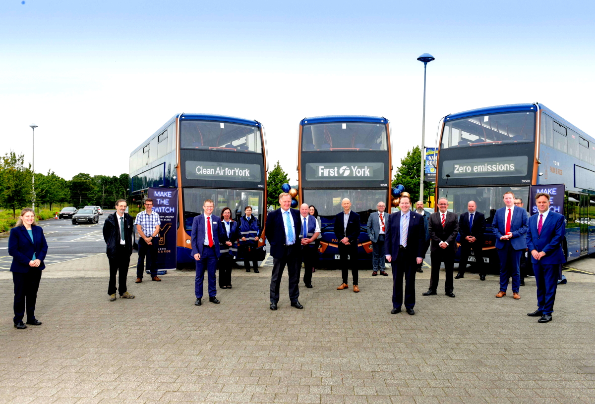 Optare delivers first of 21 battery-electric Metrodecker EV with First Y...