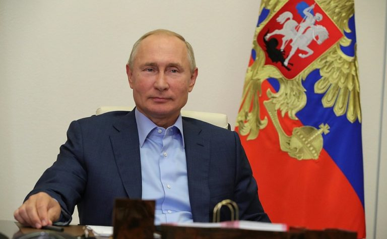 Russian President Vladimir Putin Conveyed New Year wishes to Chinese President Xi Jinping