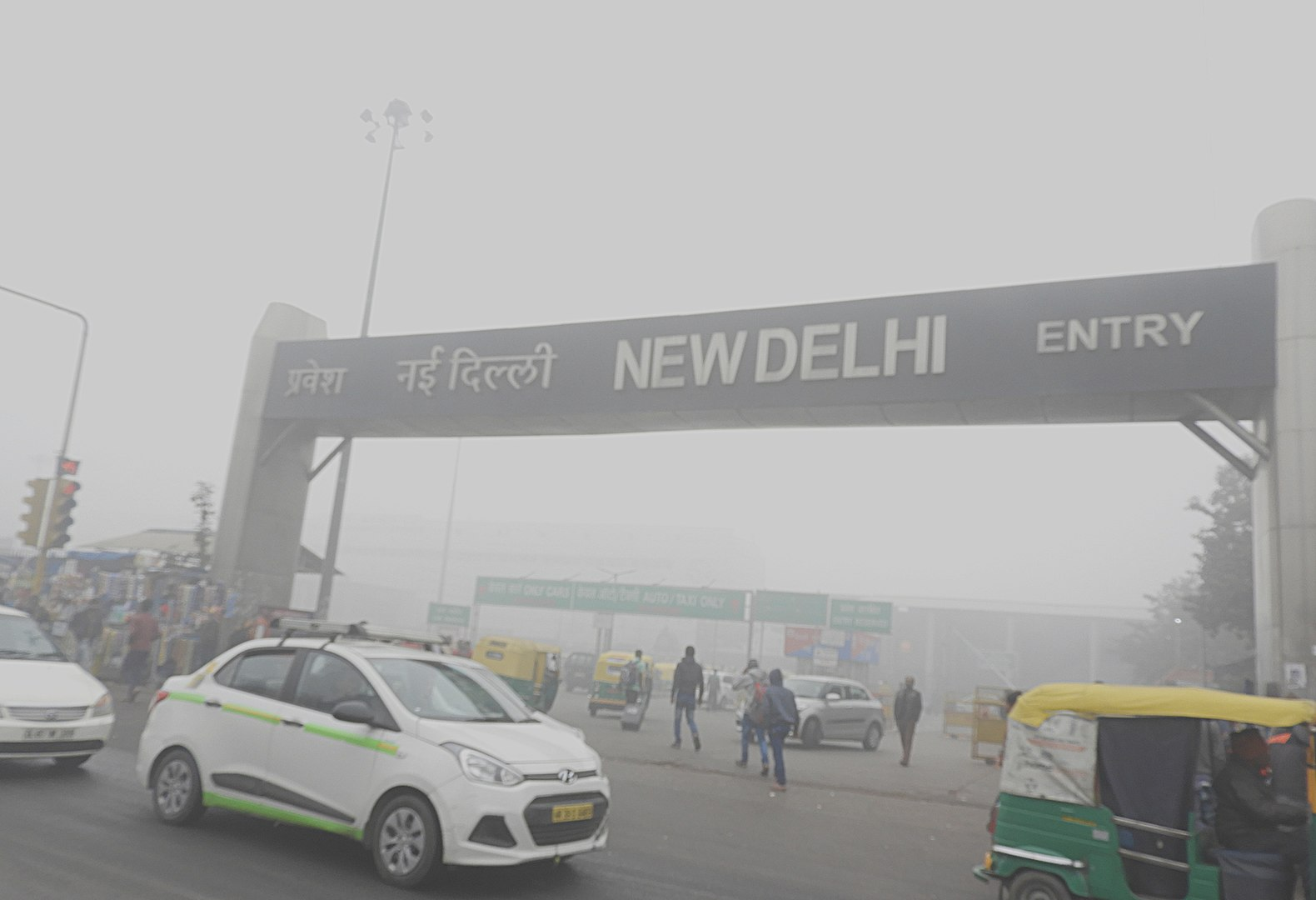 Air pollution in New Delhi