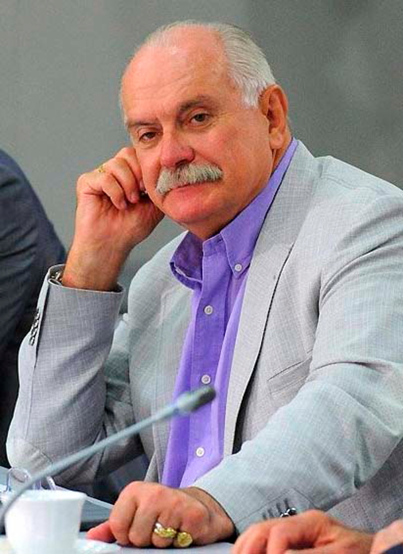 Filmmaker and actor Nikita Mikhalkov
