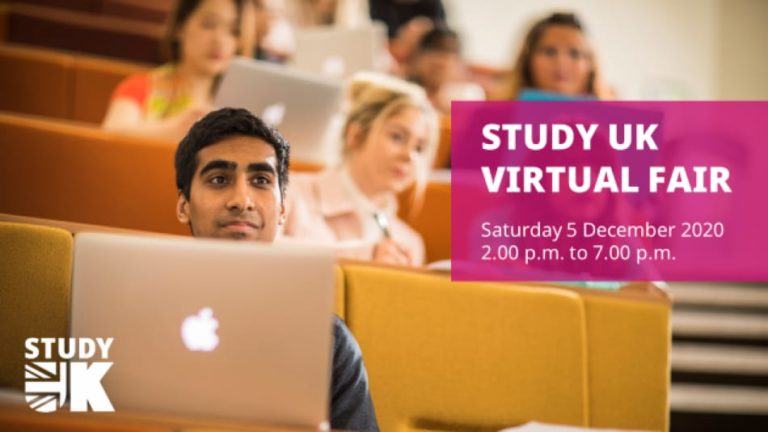 Join British Council's Study UK Virtual Fair From The Comfort Of Your Home