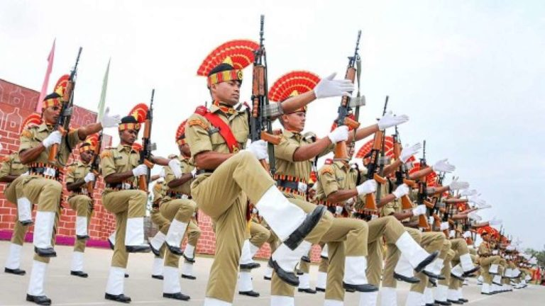 PM greets BSF personnel on BSF's Raising Day