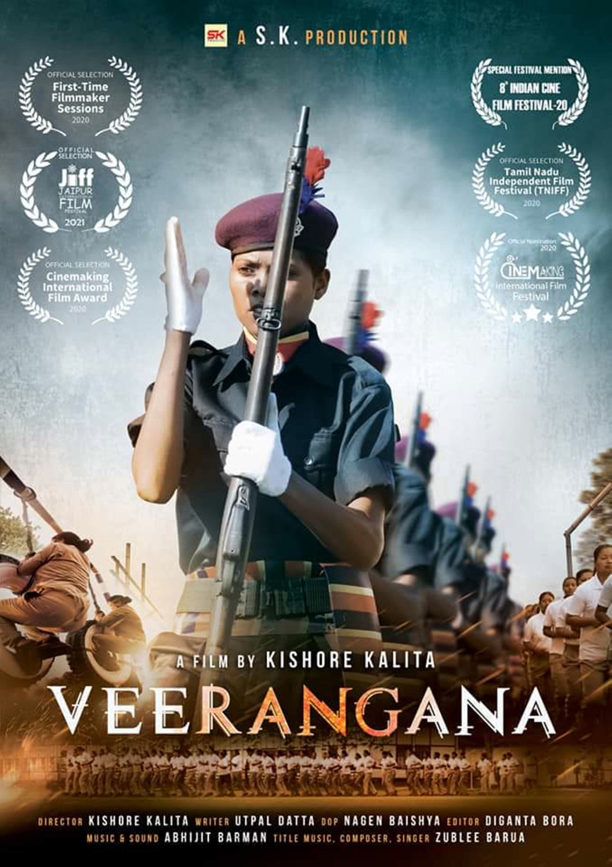 Poster-still of Veerangana