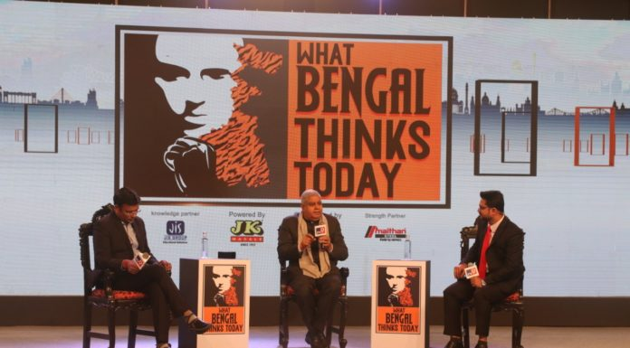 "WB Governor Jagdeep Dhankhar inaugurated the first ever conclave, ""What Bengal Thinks Today""organized by TV9 Network"