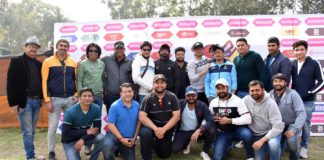 CELEBRITY MATCH AT DIEGO MARADONA ASOS CRICKET STADIUM CLOSED THE T20 FINALS