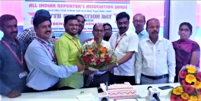 All Indian Reporters Association-(AIRA) 7th Foundation Day at Bangalore
