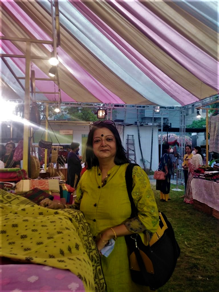 Looms, Weaves & More – A fair organized by Aesthetica founded by Sanchita Ghosh