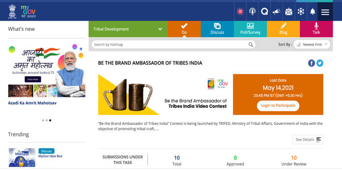 Brand Ambassador of Tribes India