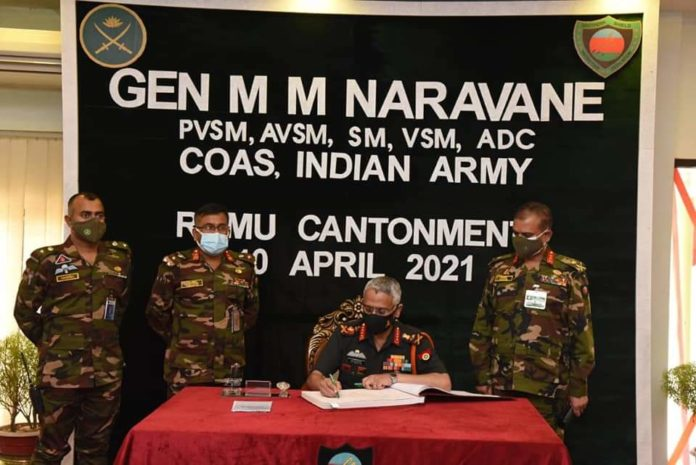 General Manoj Mukund Naravane, Indian Army Chief and the Indian delegation visited HQ 10 Infantry Division at Ramu Cantt in Bangladesh