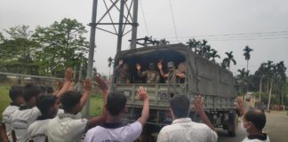 Peace reinstated, Army pulls out from South Salmara Mankachar, Assam