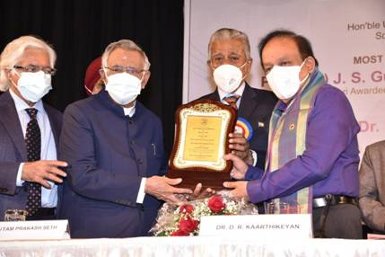 Dr. Harsh Vardhan, Union Health Minister addresses the 40th Anniversary of AGE CARE India and Elders Day Celebrations