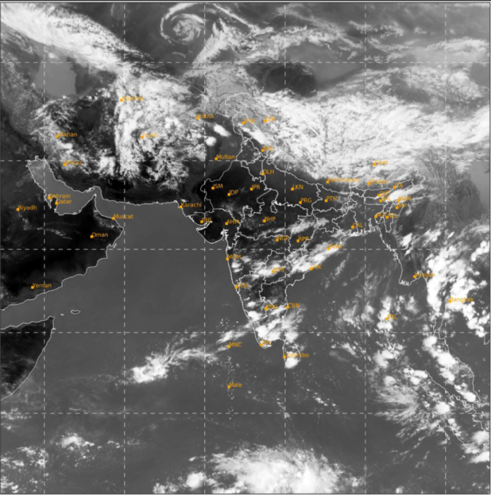 Scattered to fairly widespread rainfall with thunderstorm, lightning & gusty winds very likely over southwest Peninsular India during next 5 days; Isolated heavy rainfall also likely over south & ghat areas of Tamil Nadu and Kerala & Mahe and Coastal & South Interior Karnataka during 14th-16th April