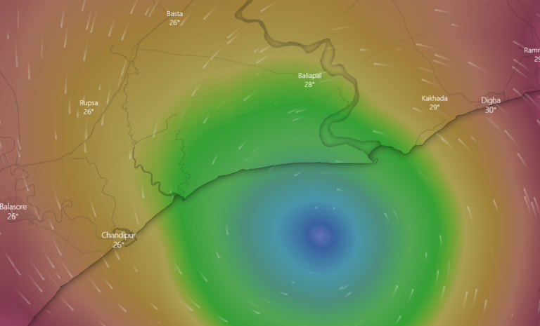 'Yaas' very likely to cross Coasts between Paradip and Sagar Islands close to North of Dhamra and South of Balasore – Wind speed of 130-140 kmph gusting to 155 kmph