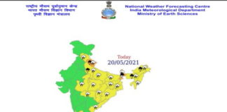 Weather The Forecast 20 May 2021
