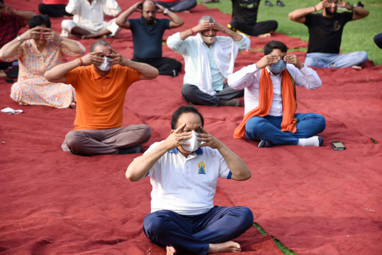 PM addresses on the occasion of seventh International Yoga Day