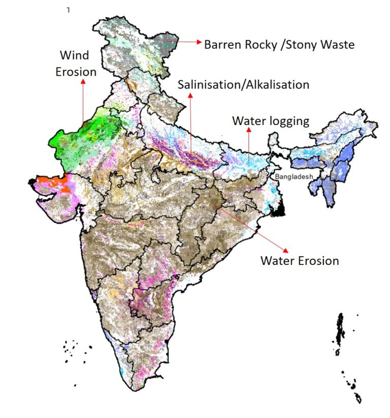 Government releases Desertification and Land Degradation Atlas of India
