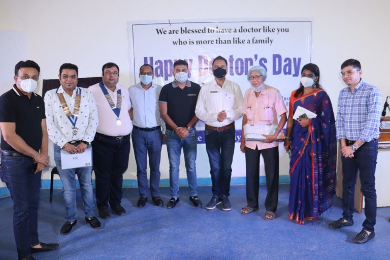 Jagannath Gupta Institute of Medical Sciences and Hospital (JIMSH) celebrates National Doctor's Day