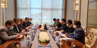 Bangladesh Foreign minister Dr. A.K. Abdul Momen had a meeting with Russian foreign minister Sergey Lavrov